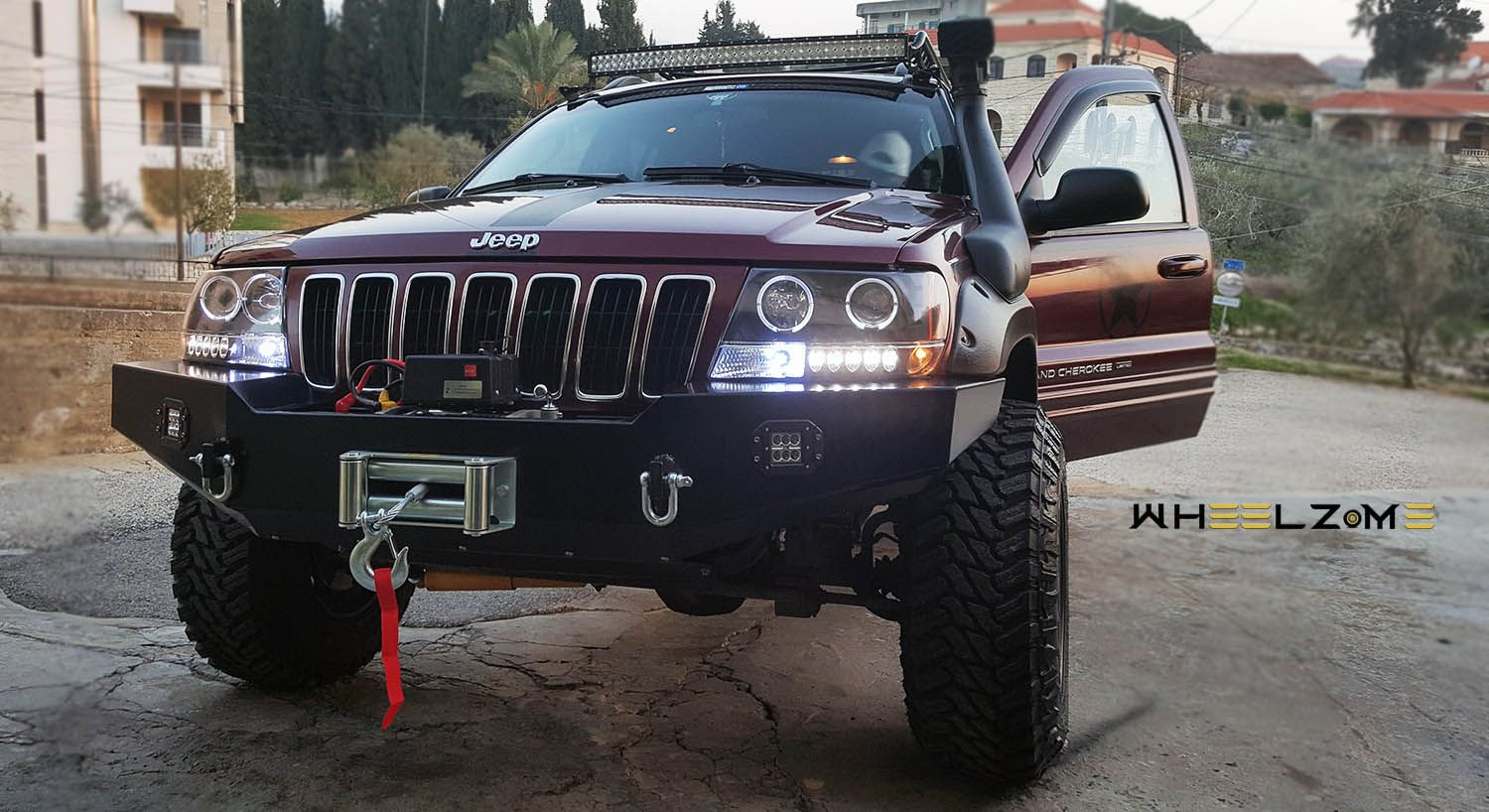 Http Wheelz Me Tag Jeep جيب غراند شيروكي ب تعديل رائع Jeep Grandcherokee Suv Tuning Crossover Offroader Offroad 4 Jeep Monster Trucks Sweet Ride