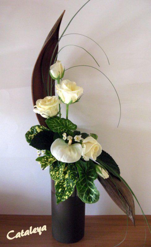 bouquet en s flower arrangement pinterest compositions florales composition et. Black Bedroom Furniture Sets. Home Design Ideas