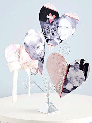 Buttoned Heart Photos