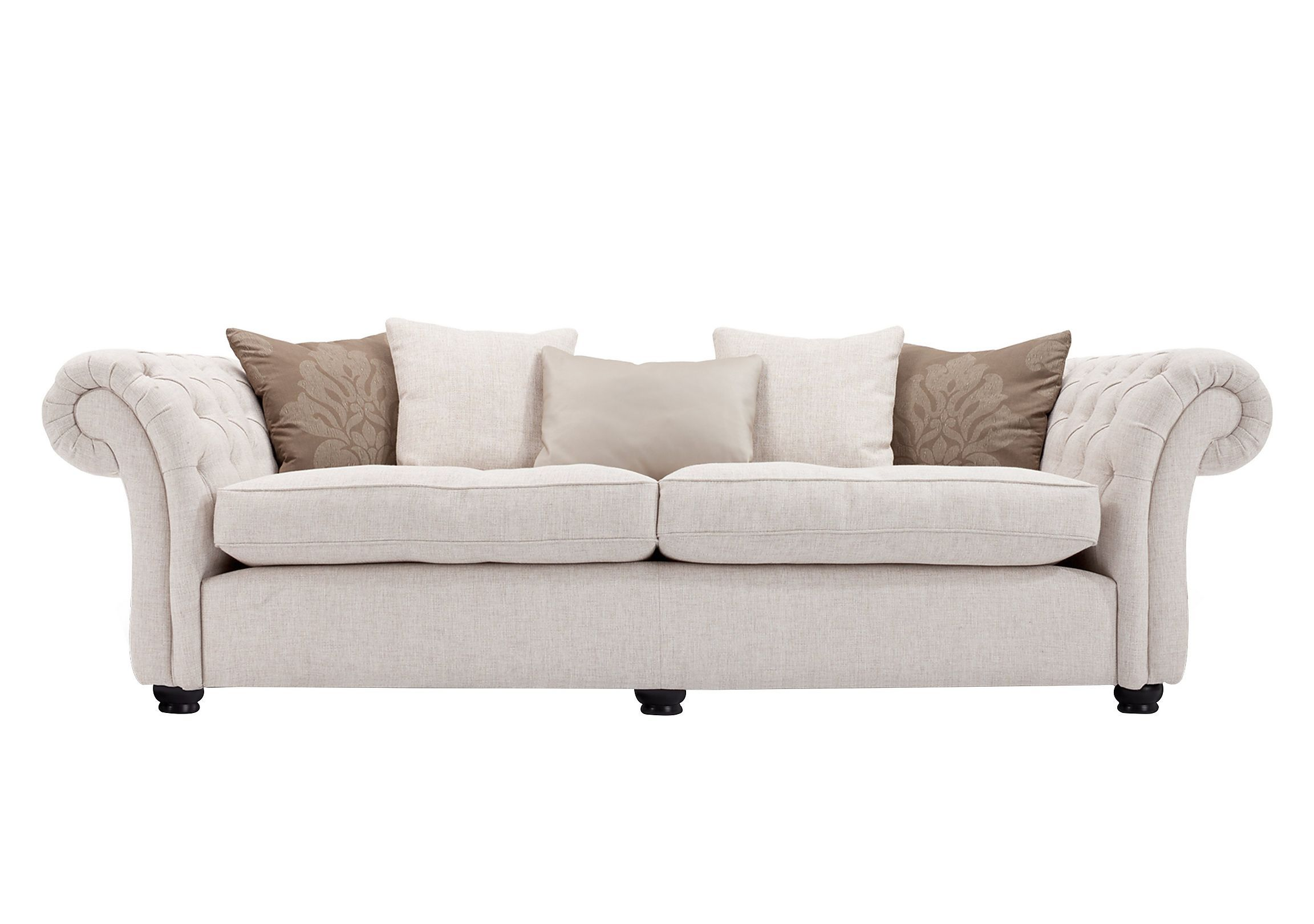 Langham Place 4 Seater Sofa Luxury Sofa Modern Sofa Retro Sofa