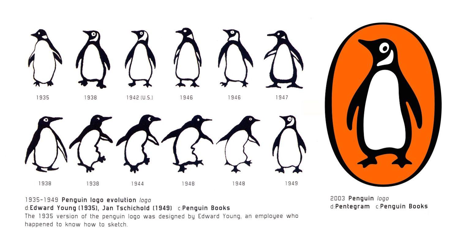 Pin By Ana Grajales On Brand Identity Pinterest Penguin Brand