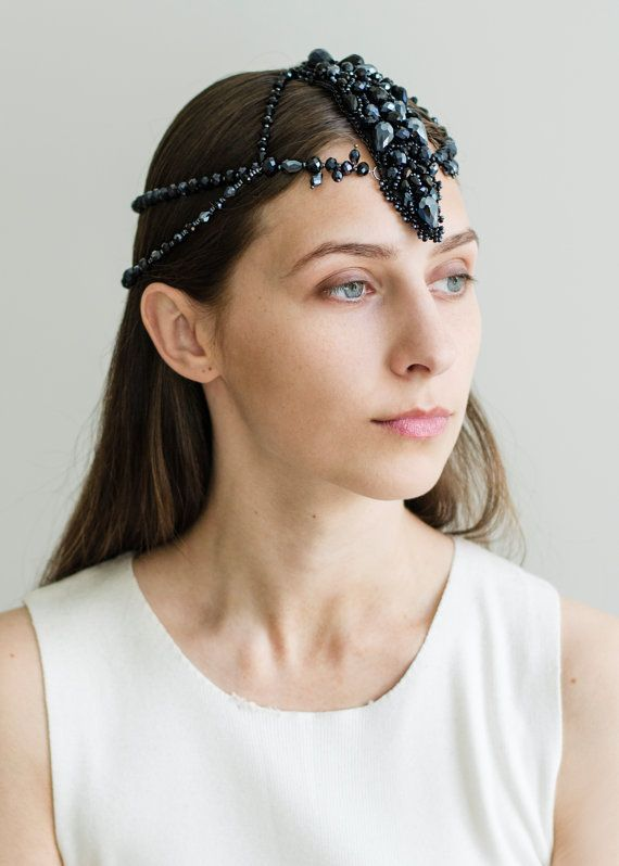 Summer Head Piece Metal Dress Crystal Lady Hair Band Women Headband