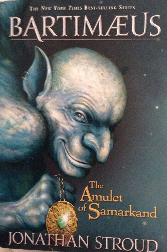 Bartimæus The Amulet of Samarkand in 2020 Amulet, The