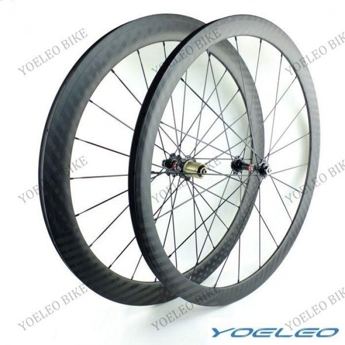 23MM Wide Carbon Bike Wheels Tubular 38MM+50MM   Yoeleo carbon