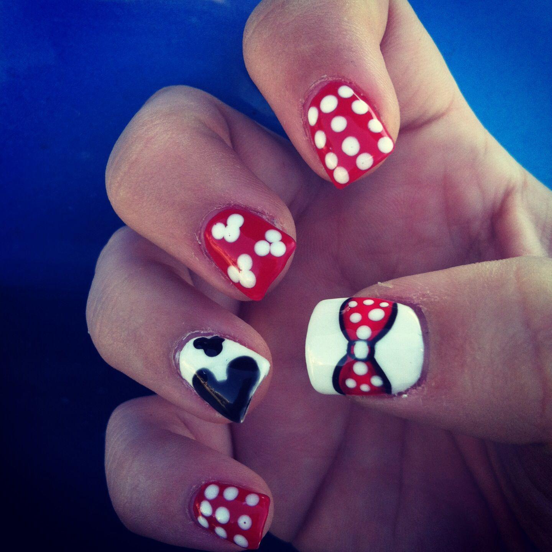 Disney Nails | Let\'s Go Do Our Nails. | Pinterest