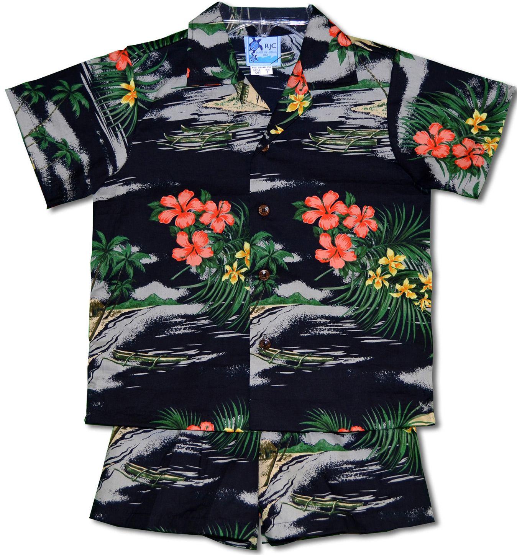 Sunset Hawaii Baby Boy 100/% Cotton T Shirt Infant