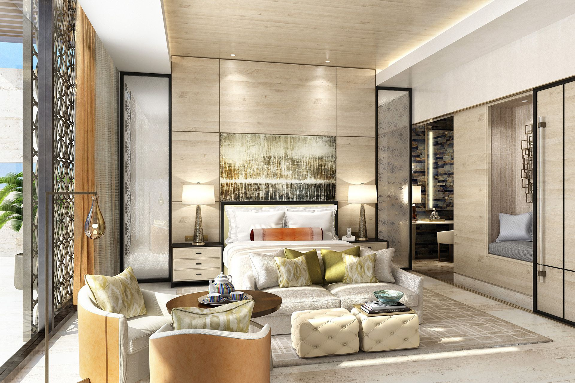 Four Seasons Taghazout Interior Designers Wimberly Interiors 3d