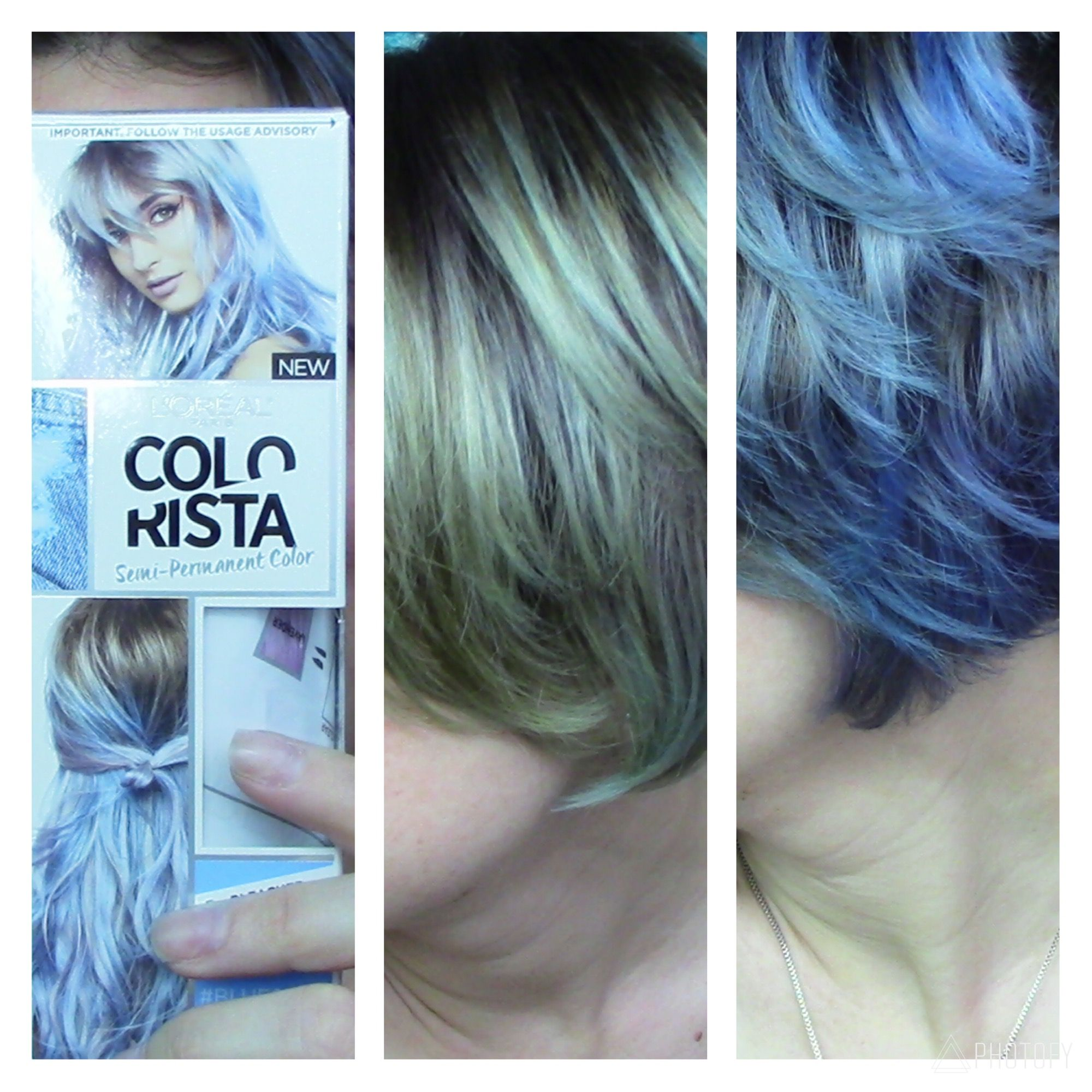 Review And Update Of Loreal Colorista In Blue 600 Beautyvlogger