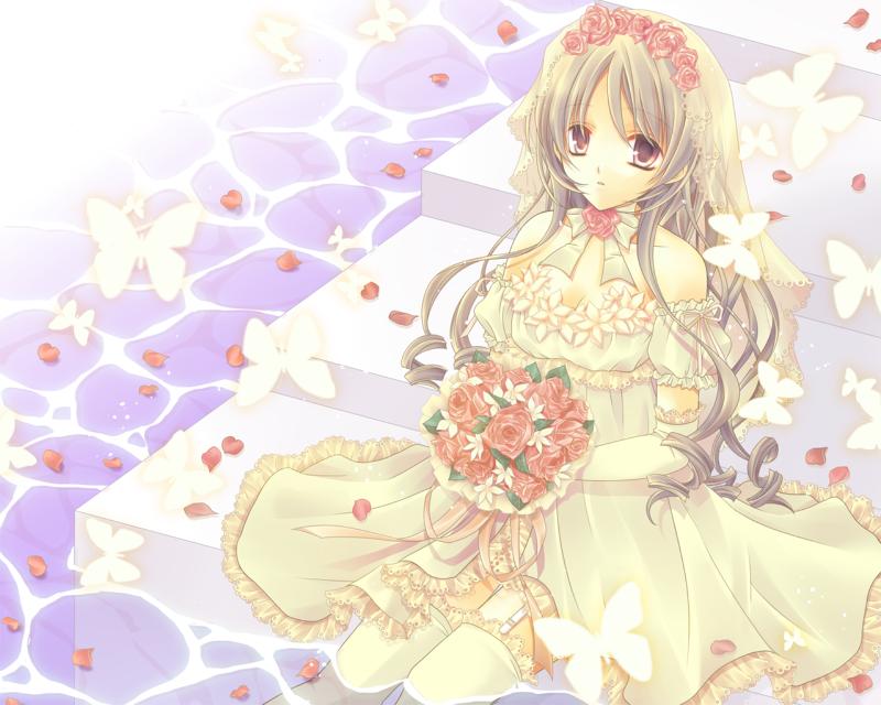 Anime Dress Flower Fashion Dresses