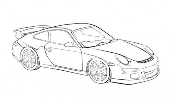 porsche sketch auto racing in 2020 porsche porsche 911