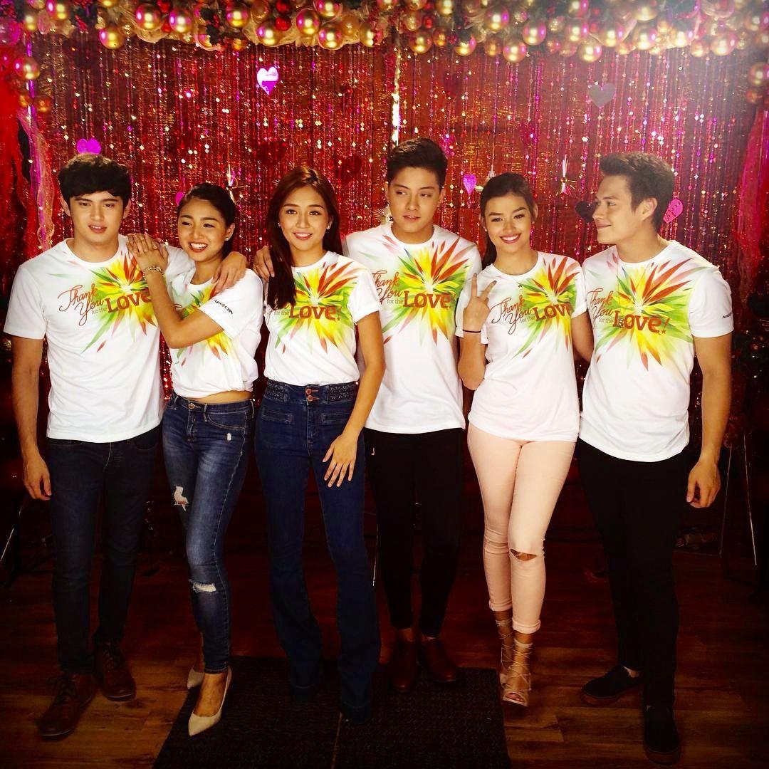 Noong twentyfifteen, nagsama ang tatlong love teams