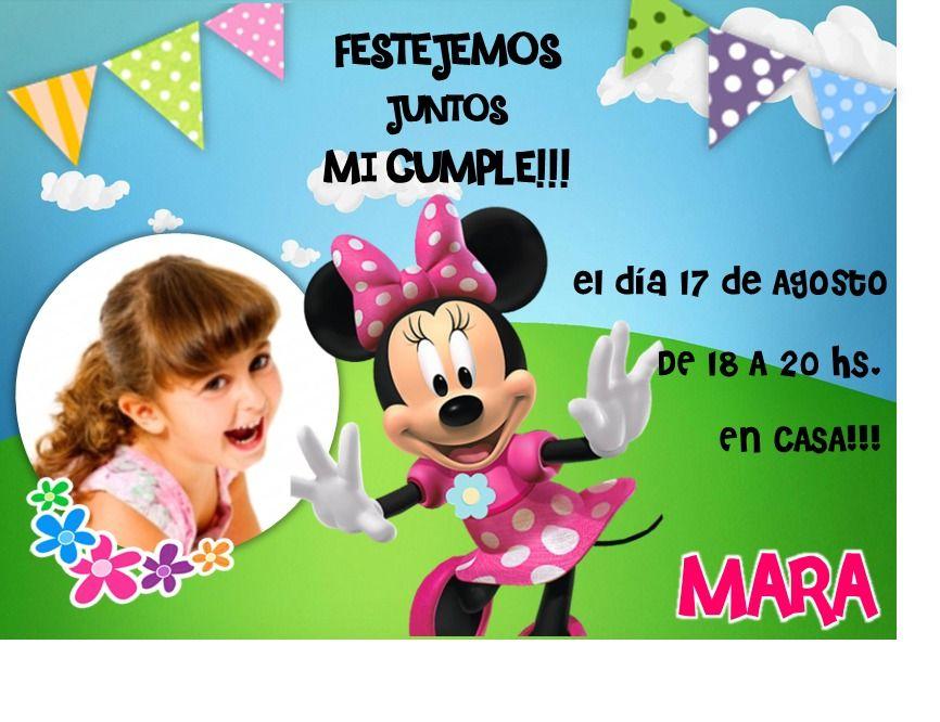 Tarjetas De Invitacion A Cumpleaños Infantiles Gratis Para