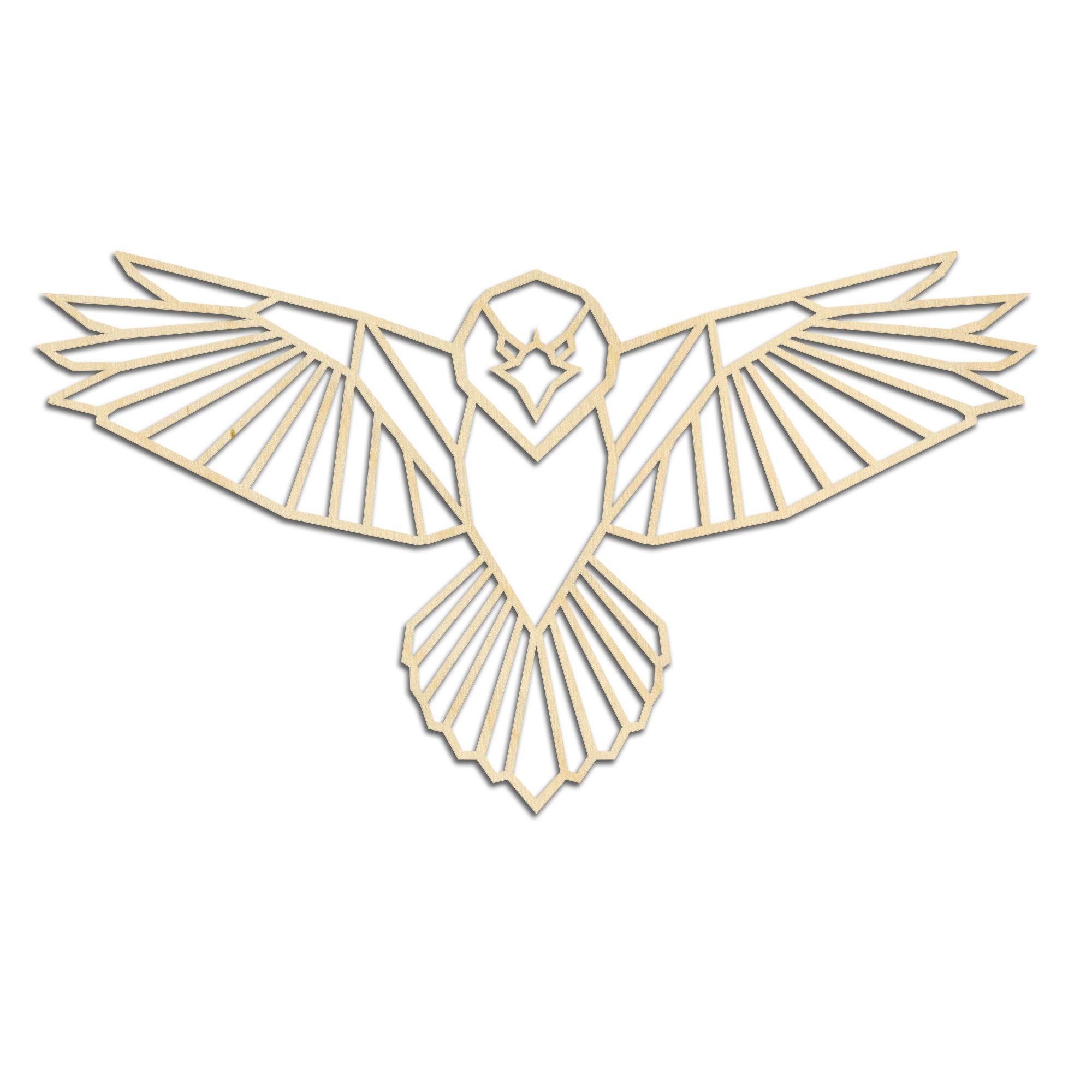 Geometrische Roof Vogel Geometrische Kunst Roofvogels Geometrische Tekening