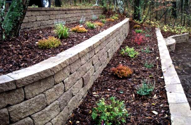 Landscaping How To Terrace A Hill Backyard Hill Landscaping Landscaping On A Hill Terraced Landscaping