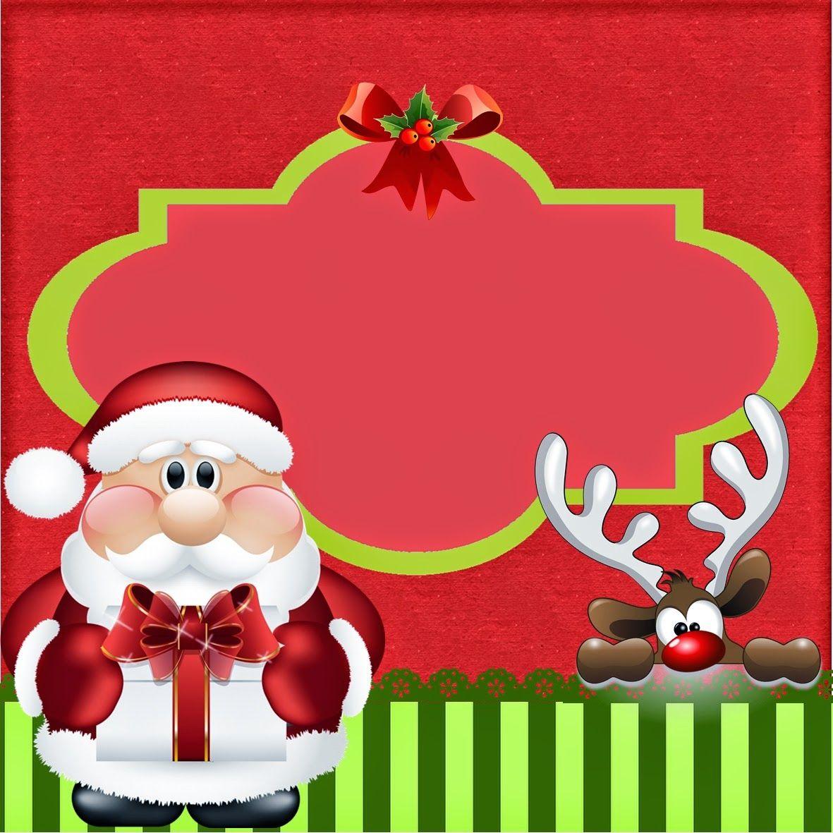 Dulce Santa: Mini Kit para Navidad para Imprimir Gratis. | fondo ...