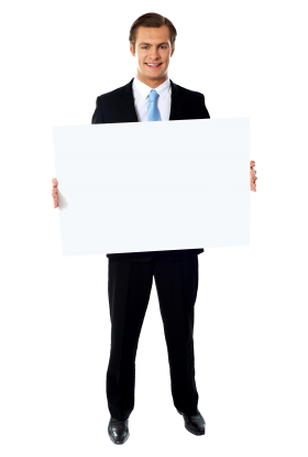 Businessmen Holding Banner Business Man Png Images Business Person