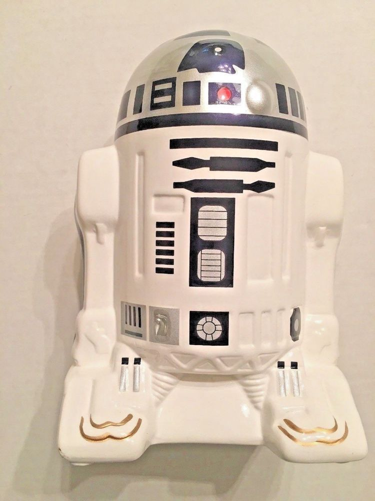 Star Wars R2d2 Ceramic Piggy Bank 2015 Lucusfilm Ltd Never Used Starwars Star Wars R2d2 Piggy Bank Ebay