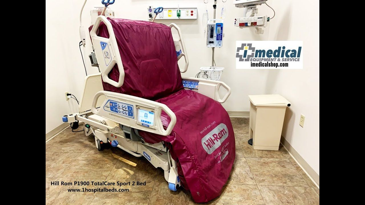 Hill Rom P1900 TotalCare Sport 2 Bed for ALS Patients in