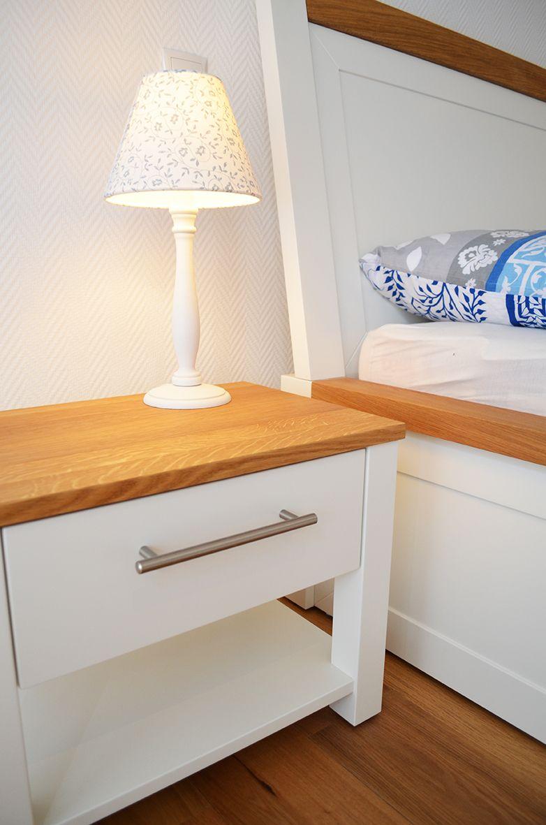Schlafzimmer Landhaus Nachttisch Holz Mit Bildern