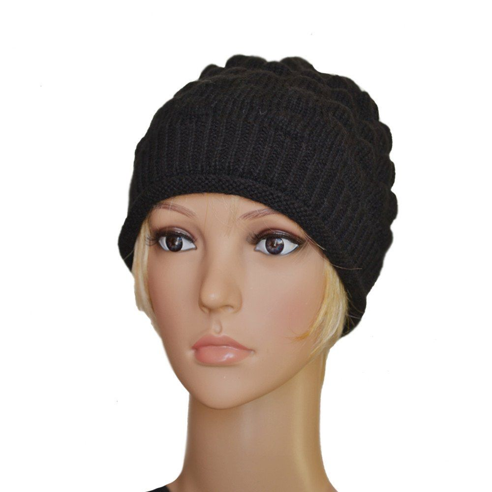 Looks - How to knitted wear beret hats video