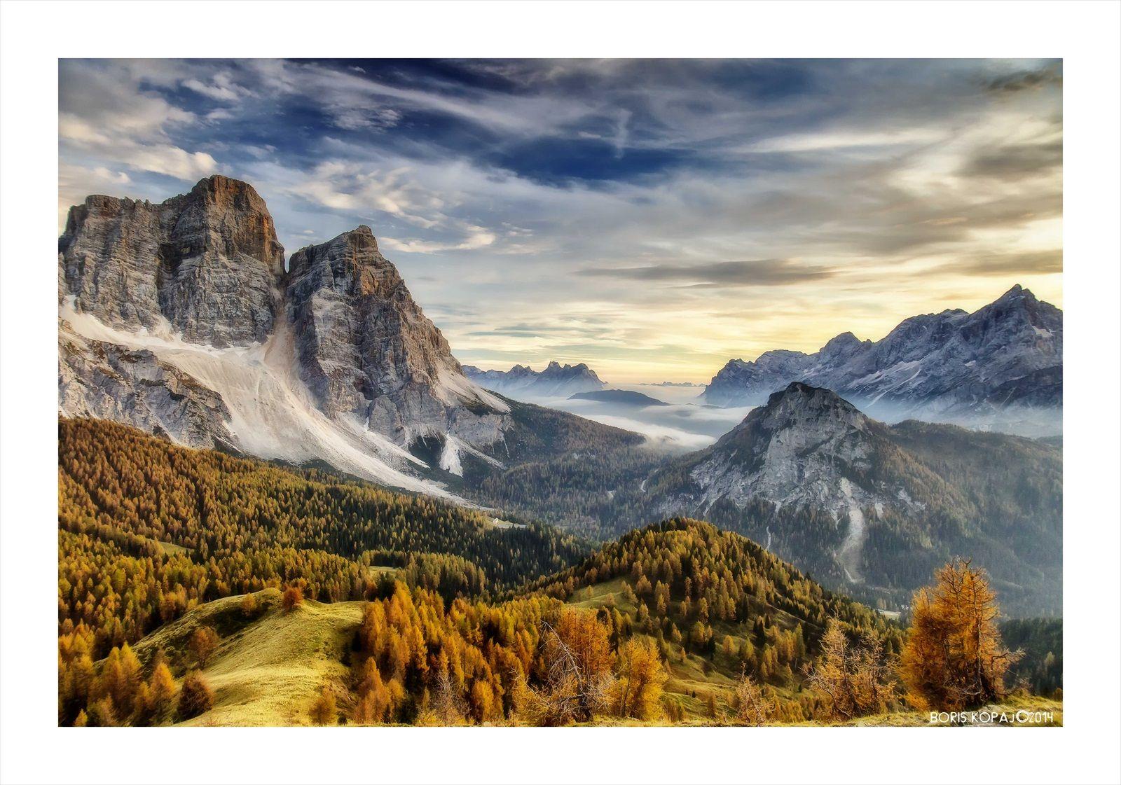 *** Medzi Monte Pelmom a Civettou *** - Flog.sk