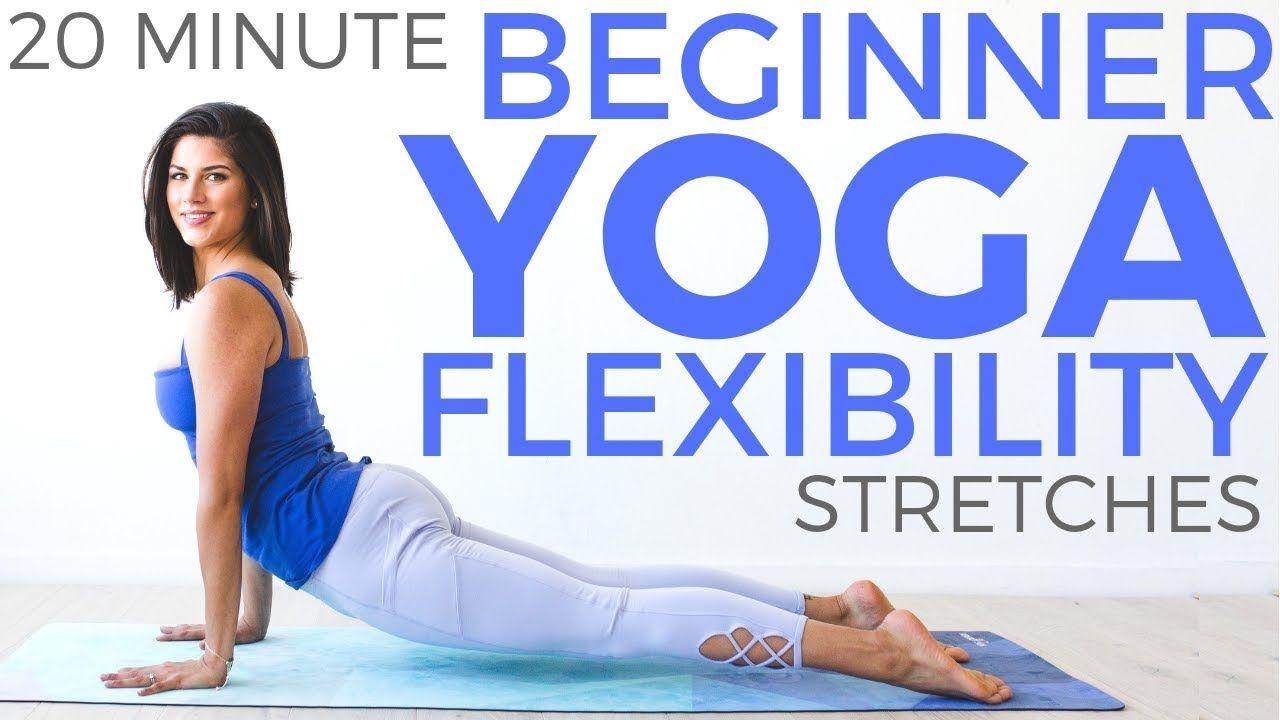 Yoga For Beginners 20 Minute Yoga Beginner Yoga For Flexibility Sarah Beth Yoga Youtube Yoga For Beginners Yoga Core Workout Yoga Stretches For Beginners