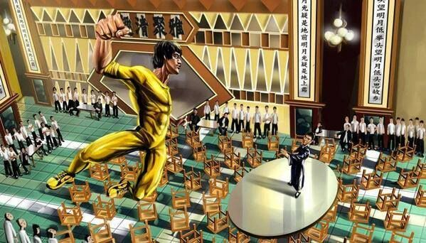 Bruce Lee vs Ip Man