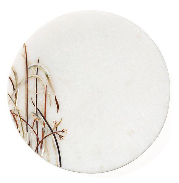 platter Asian marble