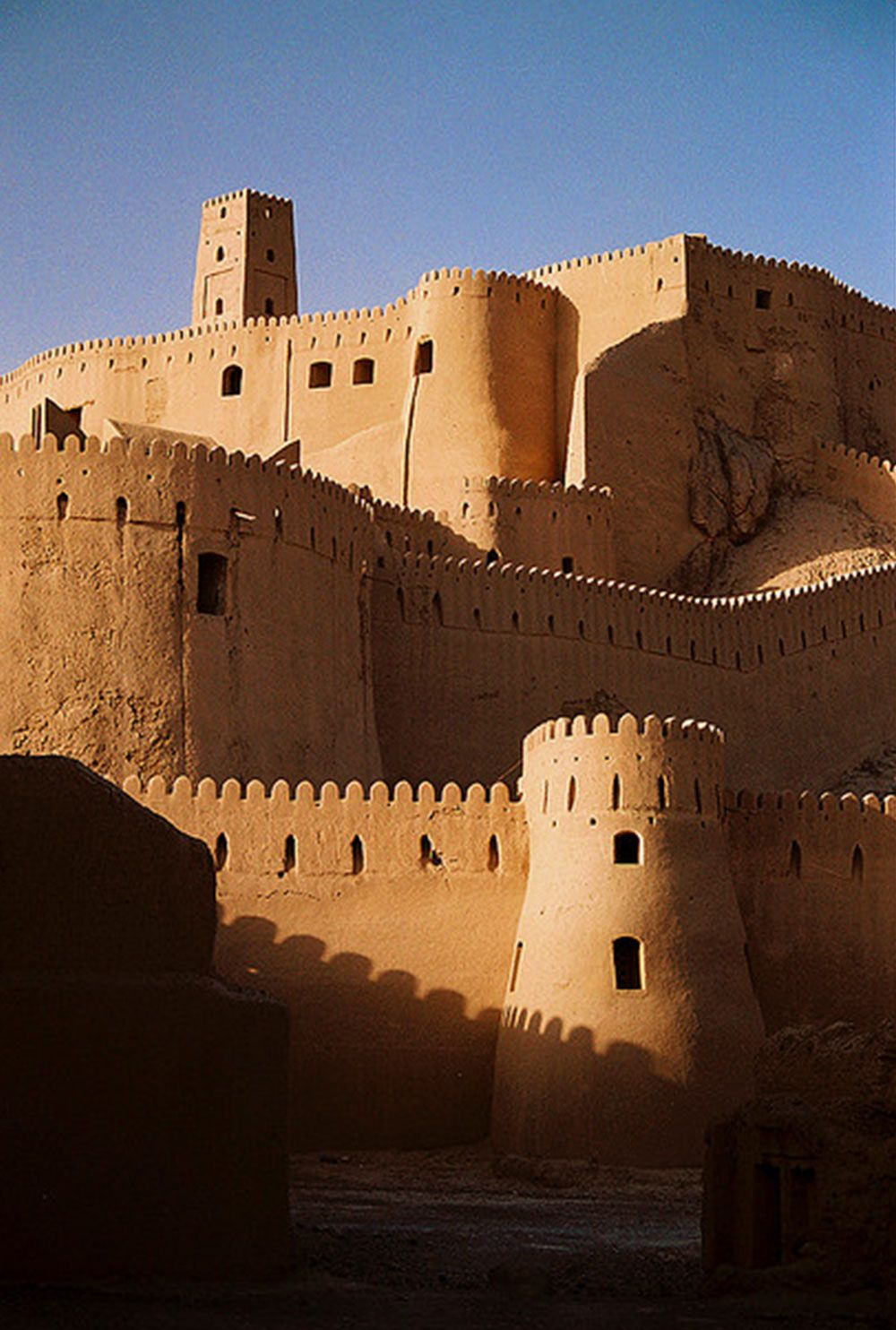 The Citadel Of Arg-E Bam The Worlds Largest Adobe -7925