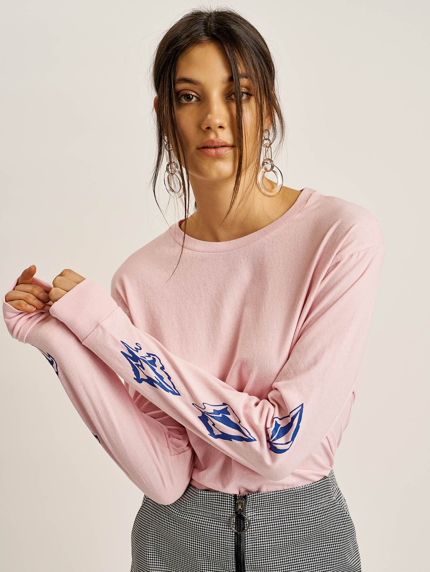 e03540d7 Arm Me Brat Long Sleeve Tee in 2019   Products   T shirts for women ...