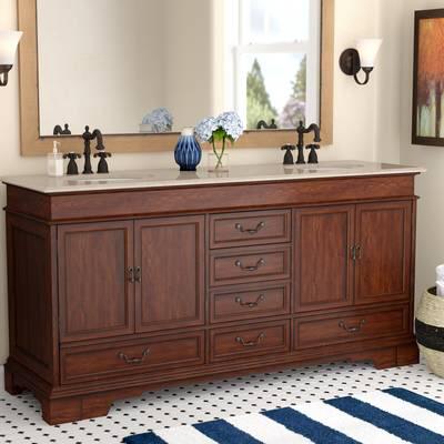 Keifer 72 Double Bathroom Vanity Set Vanity Set Vanity Kitchen Bath Collection