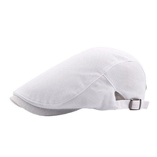 6b4e0da6a5b  8.99 -  9.99 Simcat Men Classic Solid Color Cabbie Newsboy Flat Ivy Hat  Beret Cap