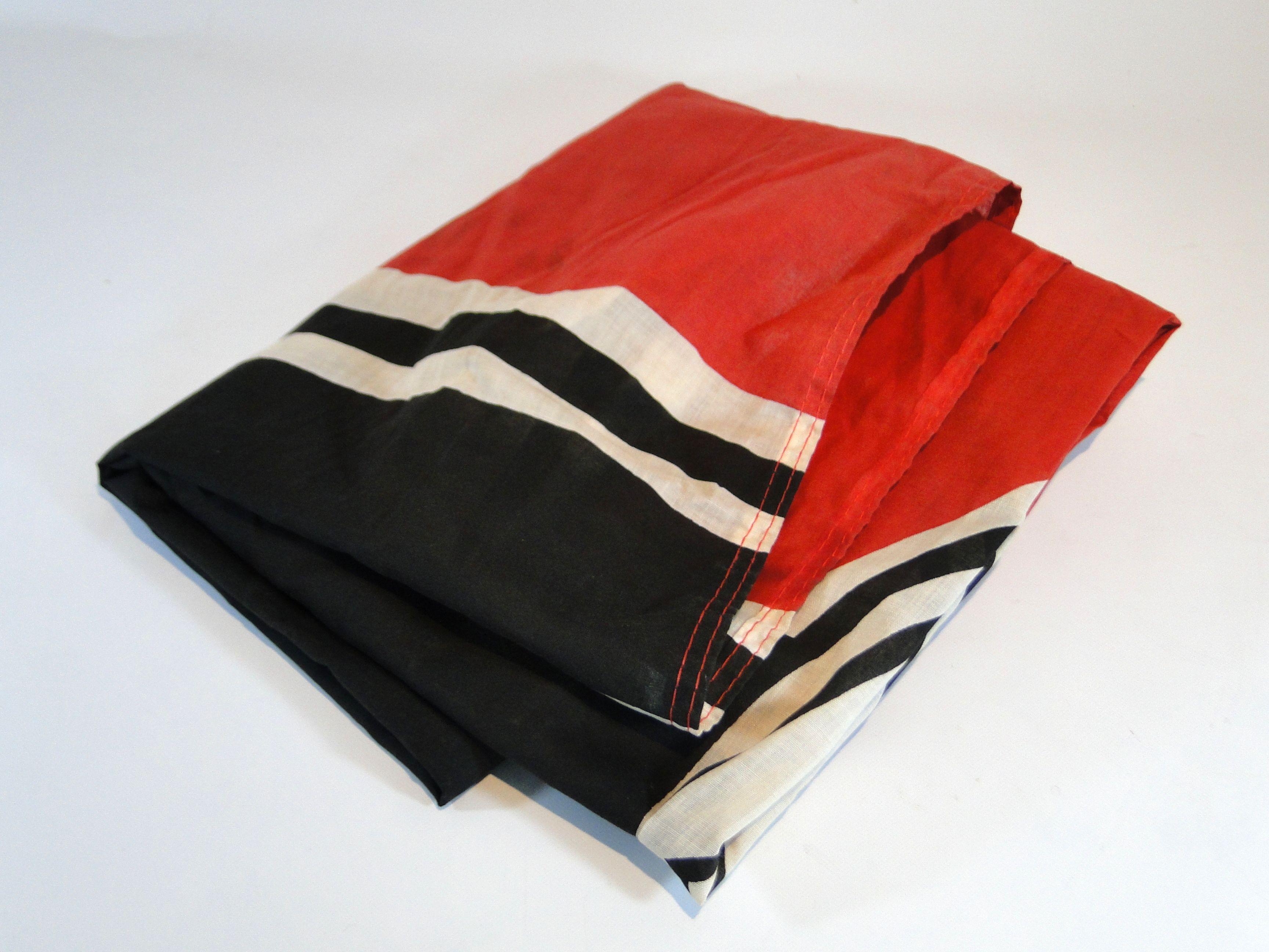 266) Large replica German flag Est. £15-£25