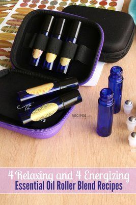 Make & Take Party Packs: Set #4 Emotional Support Roller Blends for Energizing & Relaxing