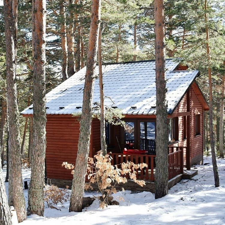 Euro Bungalows Instagram Profile Post Camping Bungalows Sierra De Albarracínd In 2020 House Styles Bungalow House