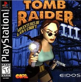 Box Cover For Tomb Raider Iii Adventures Of Lara Croft On The