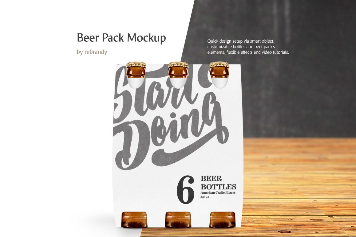 Download Beer Pack Mockup