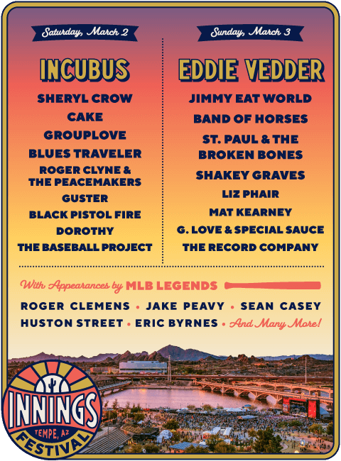 Innings Festival 2019 | Arizona | American festivals