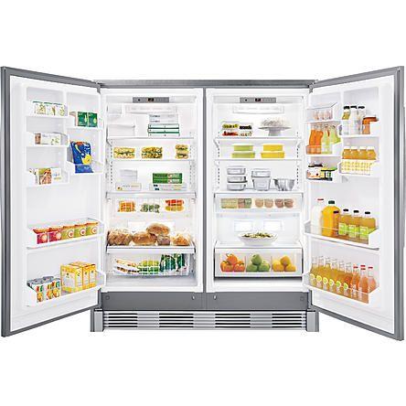 Full Size Side By Fridge And Freezer Yes