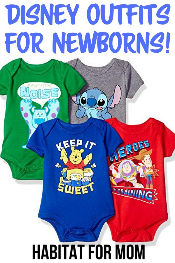 ea9235fa1b84 15 Cool Disney Newborn Baby Clothes for Boys