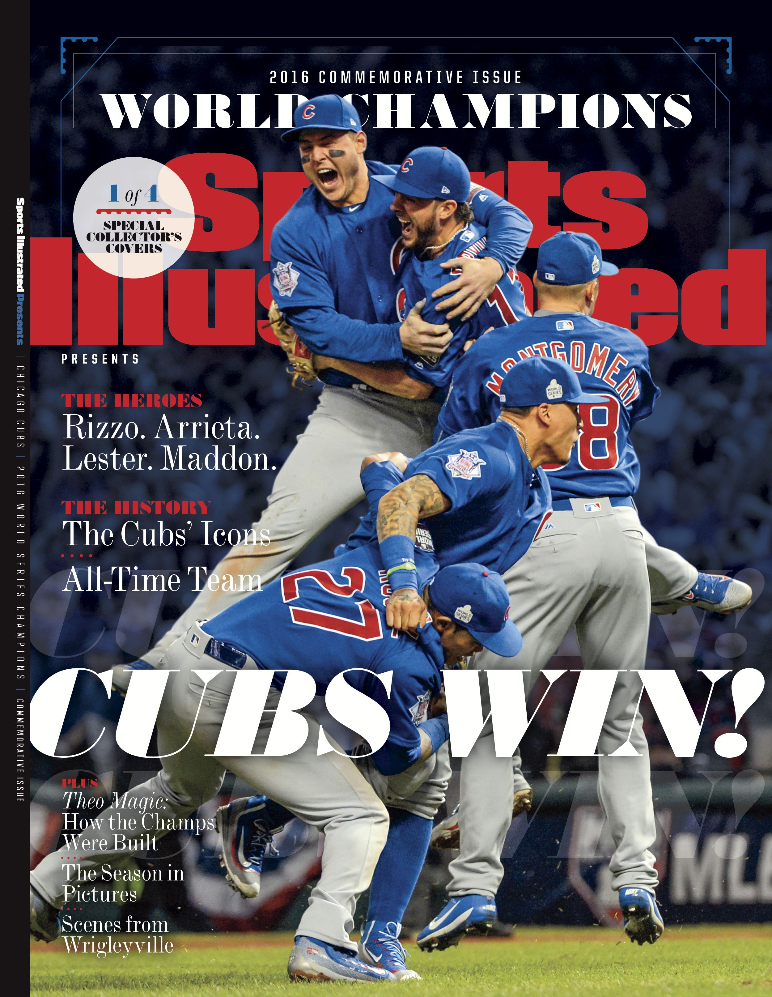 Buy Sports Illustrated's commemorative Cubs covers Cubs