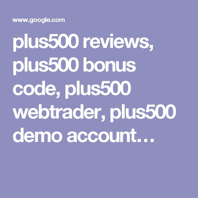 Bonuscode Plus500