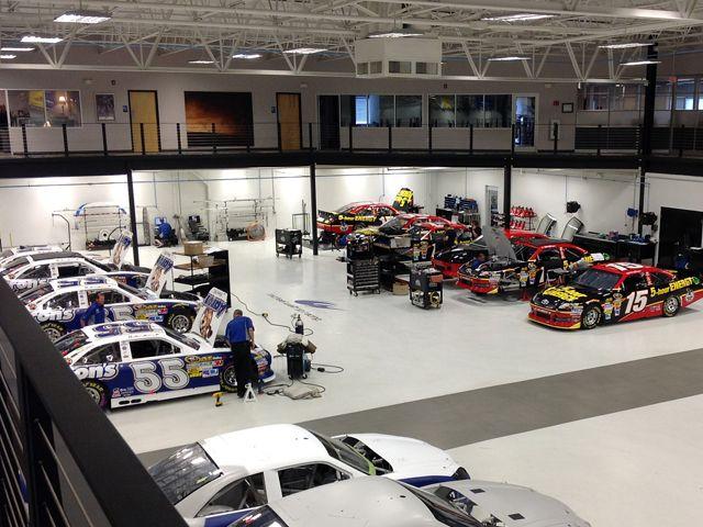 Hendrick Hyundai North >> Michael Waltrip Racing HQ http://www.pitstopfans.com