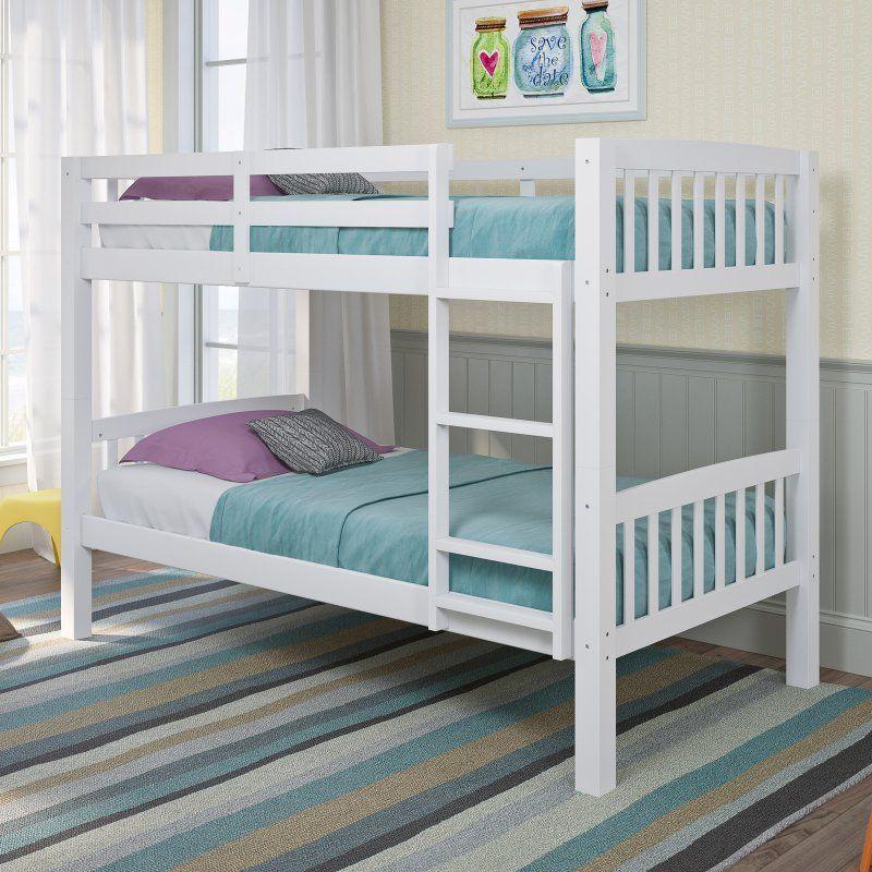 Best Corliving Dakota Twin Over Twin Bunk Bed Bdn 210 B In 400 x 300