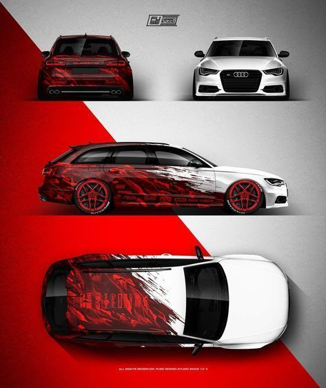 AUDI A6 @_clinched_ - NEW Abstract design for 2018 season. Owne - ... - Autos -