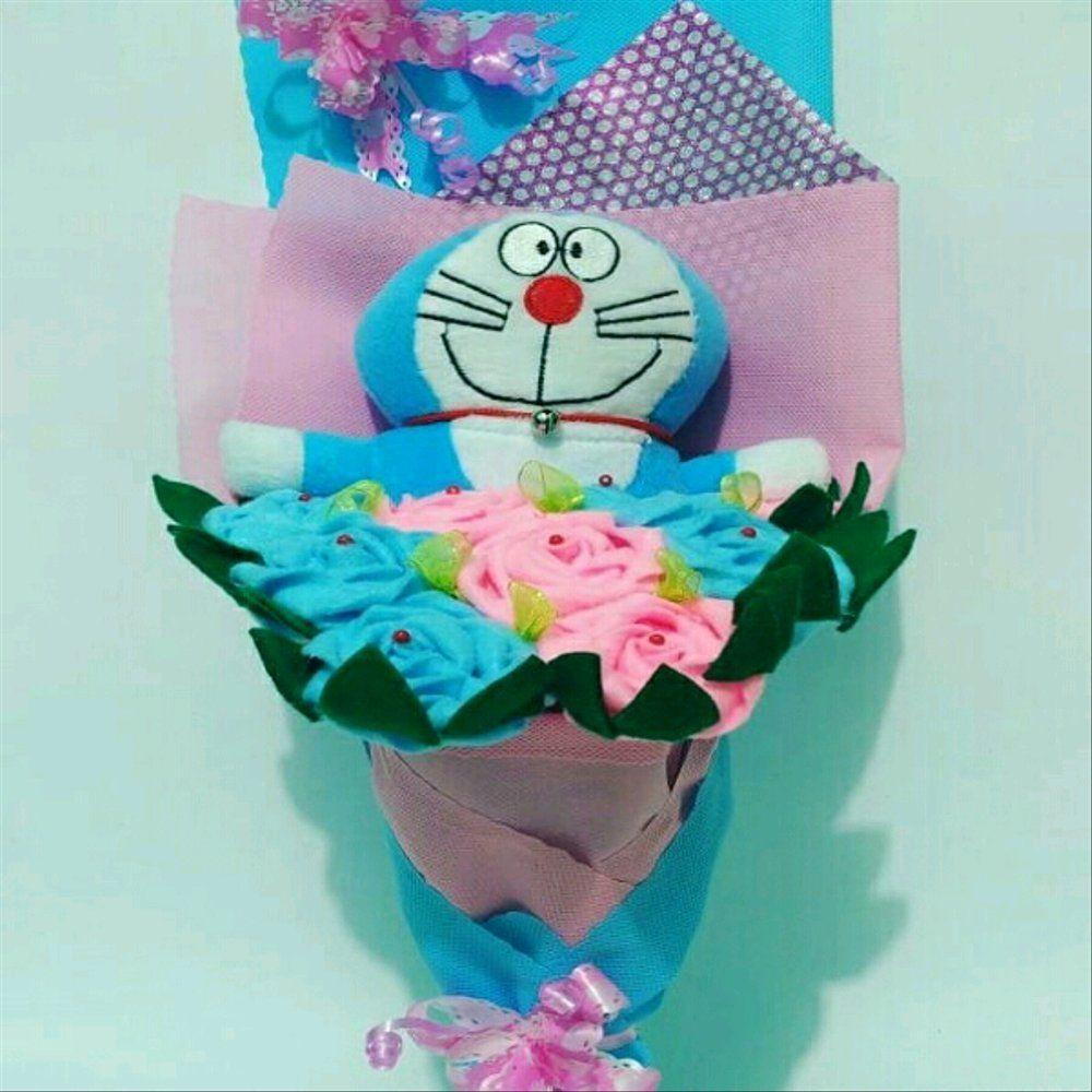 Gambar Bunga Dan Coklat Valentine Gambar Bunga Buket Biru Valentine