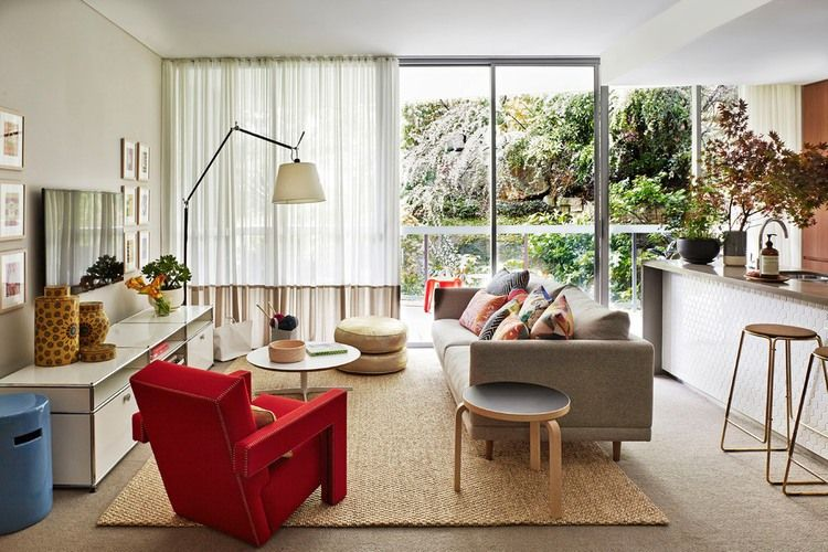 The Art Apartment By Arent Pyke Homeadore Contemporary Living Room Design Small Living Room Design Apartment Living Room