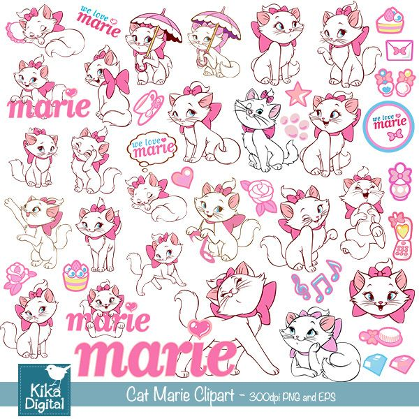 ♥ Marie {free clipart}