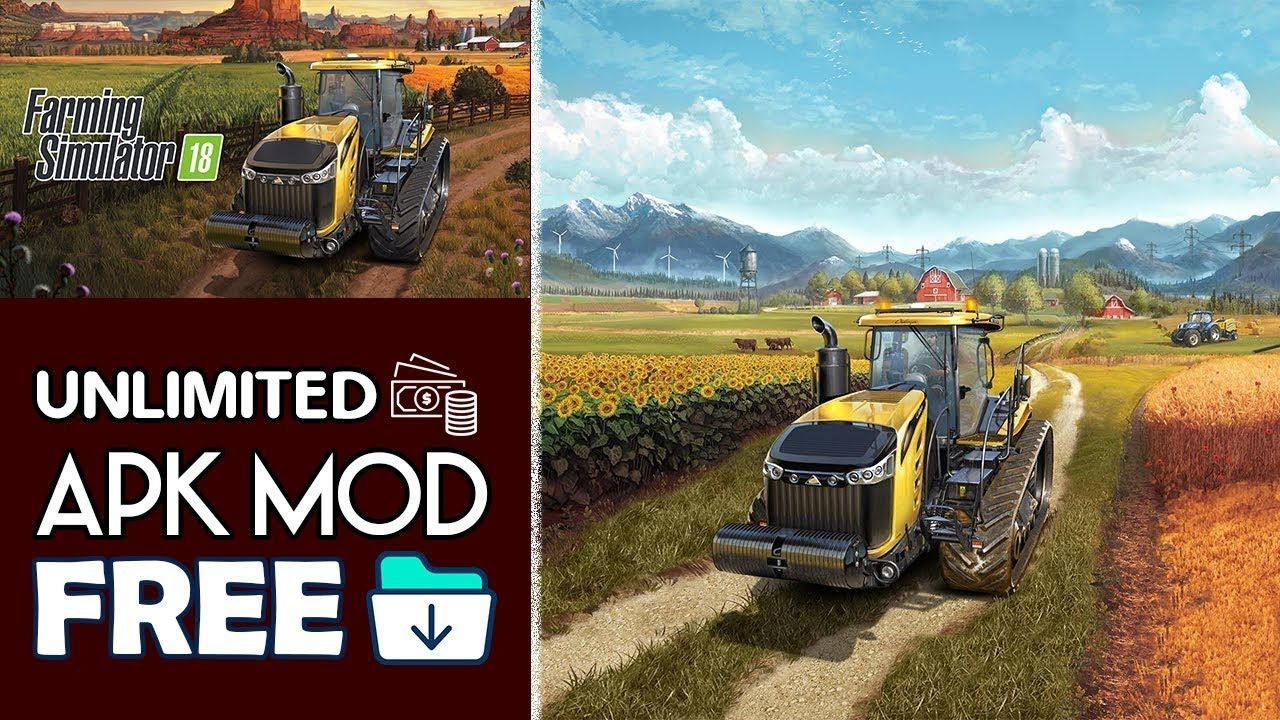 Download Farming Simulator 18 Apk Mod OBB For Android 2018