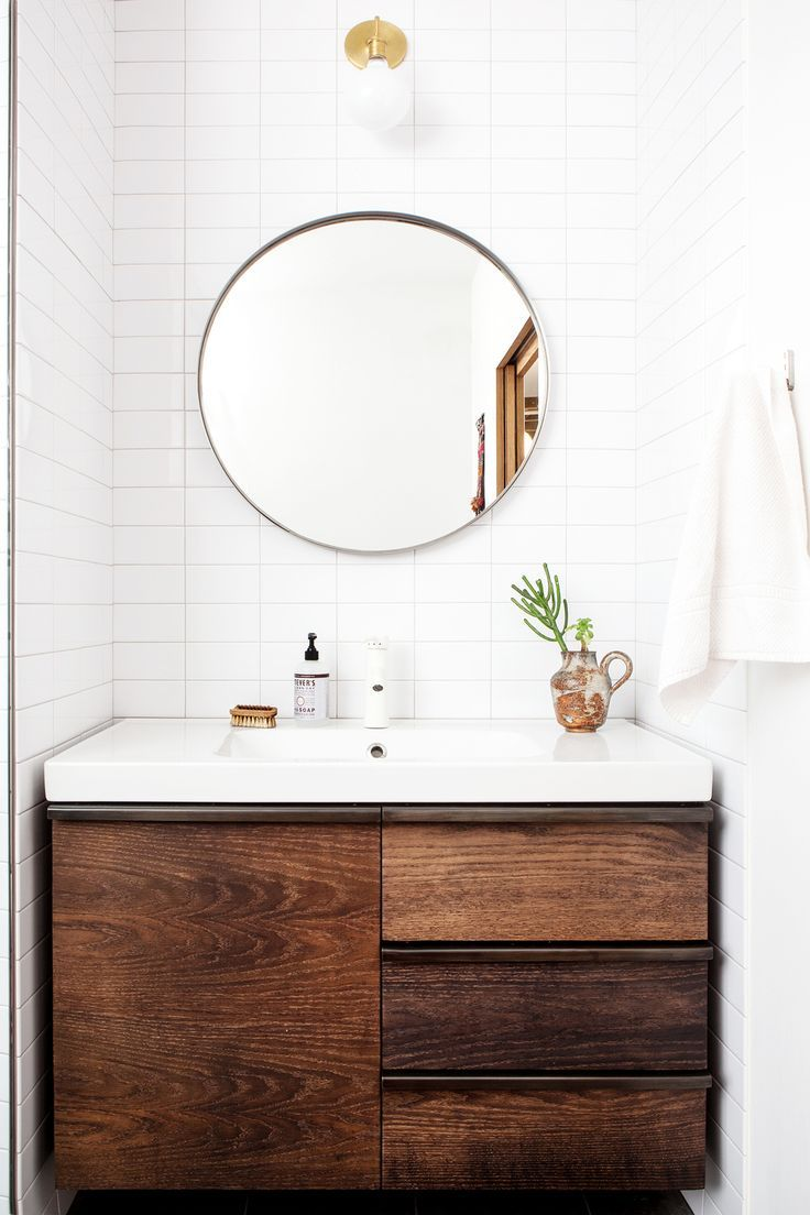 small bathroom inspiration farmhouse #homedecor | To Dwell ...